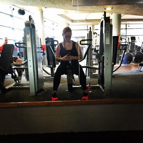 Sporten in de sportschool met Dieet Pro