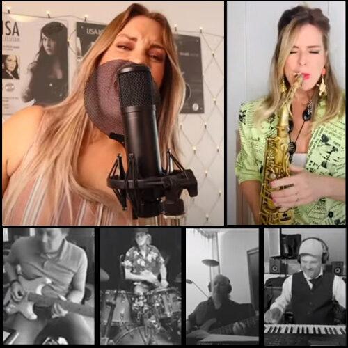 Lisa Lois feat Candy Dulfer en Club Dauphine